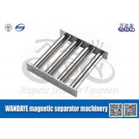 China Powerful Magnetic Separator Machine , Stainless Steel Magnetic Filter / Shelf / Gray on sale