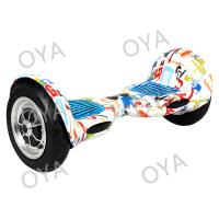 Portable Scrawl Style Fashion 2 Wheel Self Balance Scooter , LED Light Drift Electric Skateboard Manufactures