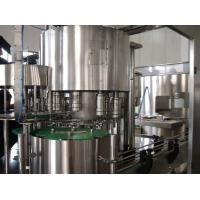 Automated Liquid Fruit Juice Production Line For PET / Glass Bottle Manufactures
