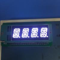 4 Digit 16 Segment Led Display 0.39 Inch Common Cathode For Temperature Humidity Indicator Manufactures