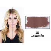 China Medical Grade Permanent Makeup Ink , Apricot Coffee Eyebrow Tattoo Pigment on sale