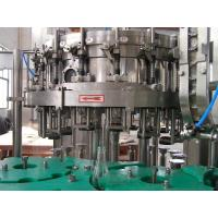 Rotary Automatic Liquid Filling Machine for Fruit Juice , Electric Driven 220V / 380V 4Kw Manufactures