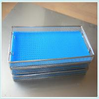 stainless steel wire mesh disinfection cleaning baskets/disinfection stainless steel welding baskets Manufactures