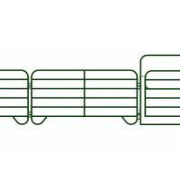 Heavy Gauge Tube Sheep Yard Panels, High Strength Movable Pipe Cattle Panels Manufactures