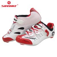 China Road Nylon Racing Bicycle Shoes , Detachable Buckle Sport Shoes on sale