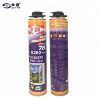 Winter Use Polyurethane Foam Sealant Spray Foam For Door And Window Manufactures