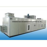 Silica Gel Desiccant Rotor Dehumidifier , Cooling Low Temperature Dehumidifier Manufactures