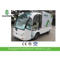Buy cheap Battery Powered Utility Bus / 2 Front Seats Electric Cargo Vehicle With 1 Ton Payload Closed Container from wholesalers