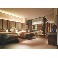 Size Customized Luxury Five Star Hotel Bedroom Furniture 3 Year Warranty Manufactures