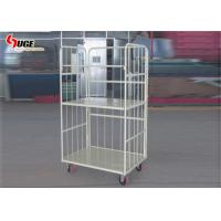 Refrigerated Steel Cage Trolley With Mute Pu Castors 1200*800*1600MM Manufactures