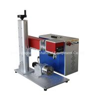 Mini Type Fiber Laser Marking Machine for Logo Marking Manufactures