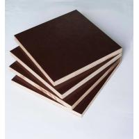 Film Faced Poplar Plywood For Cabinets , Decorative Plywood Sheets Anti Wear Manufactures