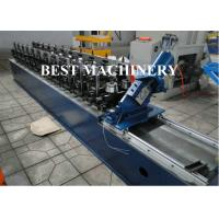 China Wall Ceiling Channel Roll Forming Machine Light Steel Keel Omega BV / SGS on sale