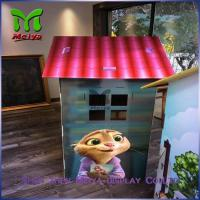 DIY Paper Corrugated cardboard houses for kids cardboard box playhouse Manufactures