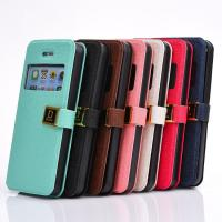 Various Styles IN stock, iPhone 6 Ultra Thin Leather Case with D pattern Manufactures