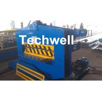 CE Approved Cold Roll Forming Machine , Metal Roof Bending Machine With Adjustable Speed Manufactures