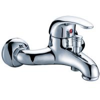 Brass Wall Mounted One Handle Mixer Taps Shower Faucet , 0.05MPa - 0.9MPa Manufactures