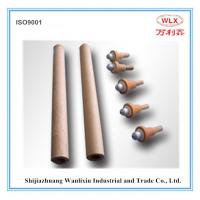 China supply R type disposable thermocouple with (triangle contact)  used for temeprature measurement in steel plants Manufactures