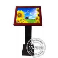 Full HD Sensor Touch Screen Kiosk Digital Signage , 19 Inch LCD Advertising Players Manufactures
