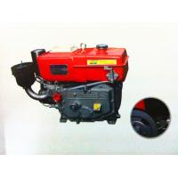 Small high speed single cylinder 4 stroke diesel engine water cooling 8hp R180 Manufactures