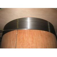 Duplex Stainless Steel Capillary Coiled Tubing , 2205 2507 Hydraulic Coiled Tubing String Manufactures