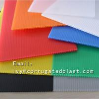 4mm Corrugated plastic sheet 4x8/ Coroplast with low price/Trade Assurance Color Clear Roofing Corrugated Plastic Sheet Manufactures