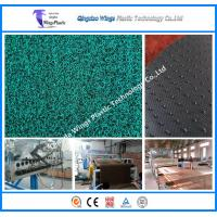 China Plastic PVC Coil Floor Mat Extruder Machine PVC Coil Car Mat Manufacturing Machine in China on sale