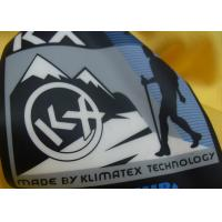 100% Polyester / Cotton Decorative Clothing Patches With Custom Logo Printing Manufactures