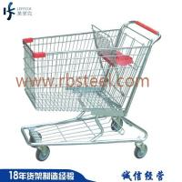 China Europe style metal easy-moving children shopping cart with child seat for sale on sale