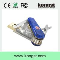 China Kongst New Multifunctional Folding Swiss Knife USB 2.0/3.0 Flash Memory Stick Pen Drive on sale