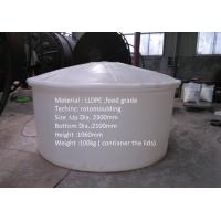 Huge Plastic Container Water Tank Round Type 50 000L for wine producing Manufactures