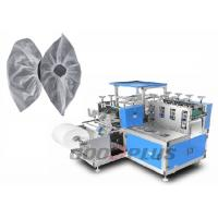 China Fully Automatic Non Woven Shoe Cover Making Machine Stable Performance on sale