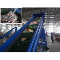 Mineral Water Oil Bottles Crushing Washing Drying Line 37kw Easy To Maintain Manufactures