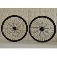 T700 20 Inch Carbon BMX Wheels High Durability With Pillar / Sapim Spokes Manufactures
