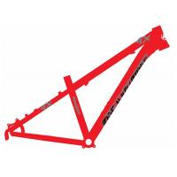 26er Dirt Jump 4x Bike Frame Red Color Aluminum Alloy 6061 Customized Painting Manufactures