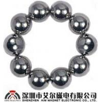 Sintered Neodymium NdFeB rare earth magnet balls Manufactures