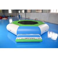Water Trampoline Combo , Inflatable Water Trampoline With Slide For Fun Manufactures