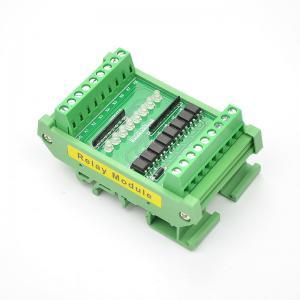China TTL  HTL Signals Converter Terminal Blocks Board 8 Ways For PLC NPN or PNP 1.8V 3.3V 5V 12V 24V Input on sale