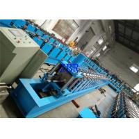 5.5Kw Hydraulic Cutting Steel C Purlin Forming Machine 40GP Container Manufactures