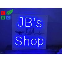 OEM Durable DC12V Led Flex Neon Lights / Neon Sign For Advertising Shops Manufactures