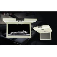 China Anti Shock Slim Car Flip Down Monitor With DVD Player Double Channels on sale