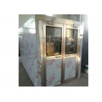 China Electricity Double Swing Door Cleanroom Air Shower For Cargo , People on sale