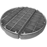 Knitted Stainless Steel Woven Wire Mesh Filament Surface For Gas / Liquids Separated Manufactures