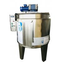 SSS304 Material Chocolate Melting Machine Customized Voltage For Cream Manufactures