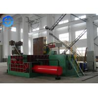 China Environmental Scrap Metal Baler Metal Scrap Baling Press Machine 80-95 Ton / Day on sale