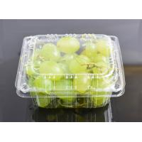 High Clear Grape Box Disposable Plastic Fruit containers Manufactures