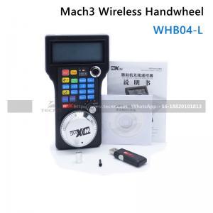 China CNC handwheel wireless Mach3 MPG pendant handwheel for milling machine hand wheel controller  WHB04-L on sale