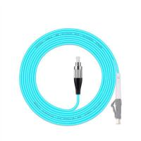 China 5PCS/Lot FC/UPC -LC/UPC OM3 Fiber Optic Patch Cord 10G 50/125 Fiber Cable Multimode Simplex Optical Jumper on sale