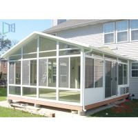 Residential Housing Aluminium Glass Greenhouse Double Glazing Architeched Design