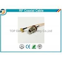N Type 50 OHMS Different RF Coaxial Cable RG136 , RG174 , RG178 Manufactures